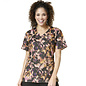 Zoe & Cloe Women's Print Wrap Top Z14202