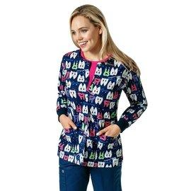 Zoe & Cloe Women's Print Jacket Z85202