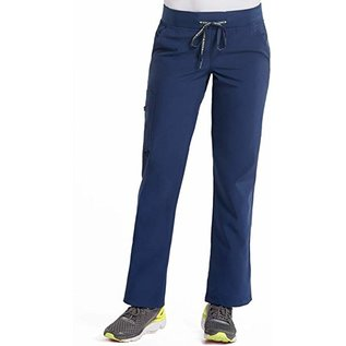 Med Couture Cargo Scrub Pants 8755T  Navy XS Tall