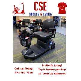 Pride Mobility Pride REVO 3 Wheel Travel Scooter S66