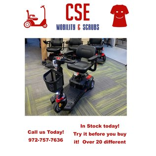 Drive Medical Drive Scout DST 3-Wheel Travel Scooter