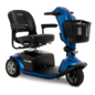 Pride Mobility New Pride Victory 10.2 3 Wheel Scooter Ocean Blue