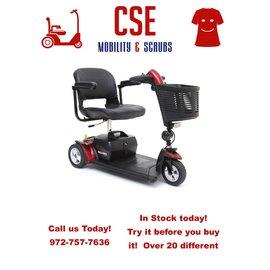 Pride Mobility Pride Go Go Sport 3 Wheel Scooter S73