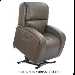 Golden Golden EZ Sleeper MaxiComfort with Twilight – Powered Headrest / Lumbar PR761-Shitake
