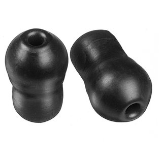 Prestige Medical Soft Clinical Sprauge Eartips Black