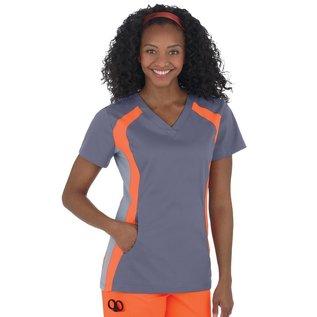 White Cross CLEARANCE - WhiteCross Women's Allure V-Neck Double Contrast Sport Top 715