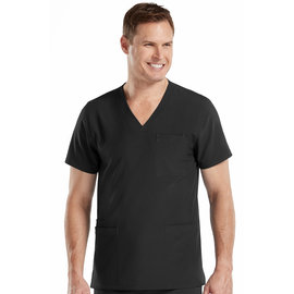 Med Couture Med Couture Activate Men's 8528 Black 3XL