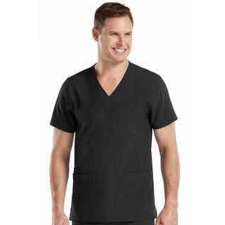 Med Couture Activate Men's 8528 Black 3XL