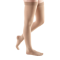 Medi Compression Socks 20-30 mmHg Thigh Closed Toe Natural