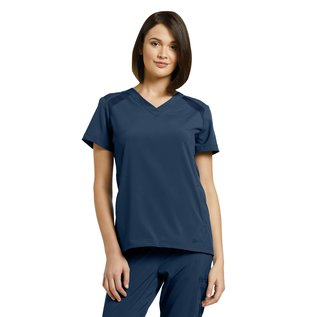 White Cross Fit by White Cross Women's V-Neck Solid Scrub Top 746