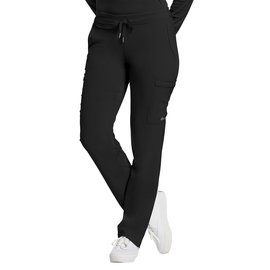 White Cross Fit by White Cross Women's Drawstring Cargo Scrub Pant 373