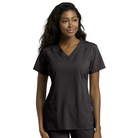White Cross White Cross FIT Women's  V-Neck Scrub Top 785