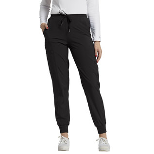 White Cross FIT Women's Mid-Rise Cargo Jogger Scrub Pant 365