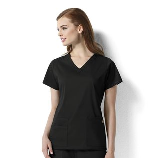 WonderWink Next Women's Charlotte V-Neck Top 6119