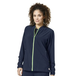 Carhartt Carhartt Women's Cross-Flex Knit Mix Zip Front Jacket C82310