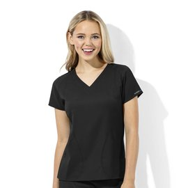 WonderWink WonderTech Women's V-Neck Scrub Top 6113