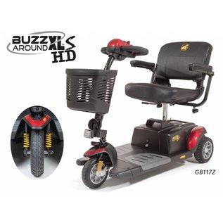 Golden GB117Z Golden BuzzAround XLs HD 3 Wheel Scooter