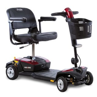 Pride Mobility SC54 Pride Go Go Elite Traveler Plus 4 Wheel Scooter