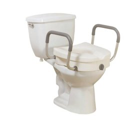 Viverity Viverity Raised Toilet Seat W/Removeable Arms