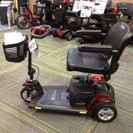 Pride GoGo Elite Traveller Plus 3 Wheel Scooter with Extended Range Batteries