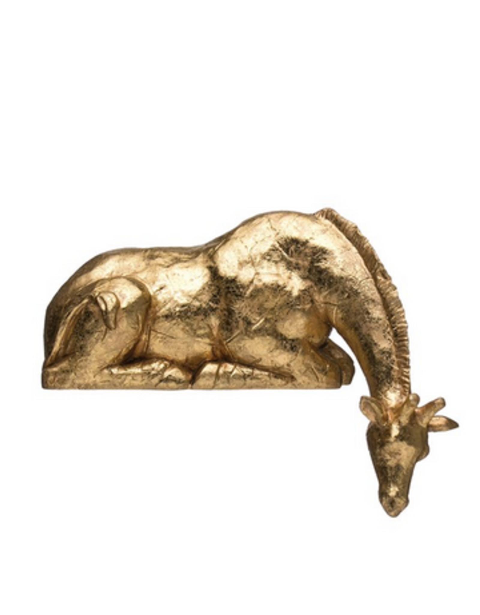 Resin Giraffe Shelf Sitter