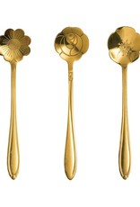Stainless Steel Flower Shaped Spoon