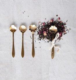 Stainless Steel Flower Shaped Spoon