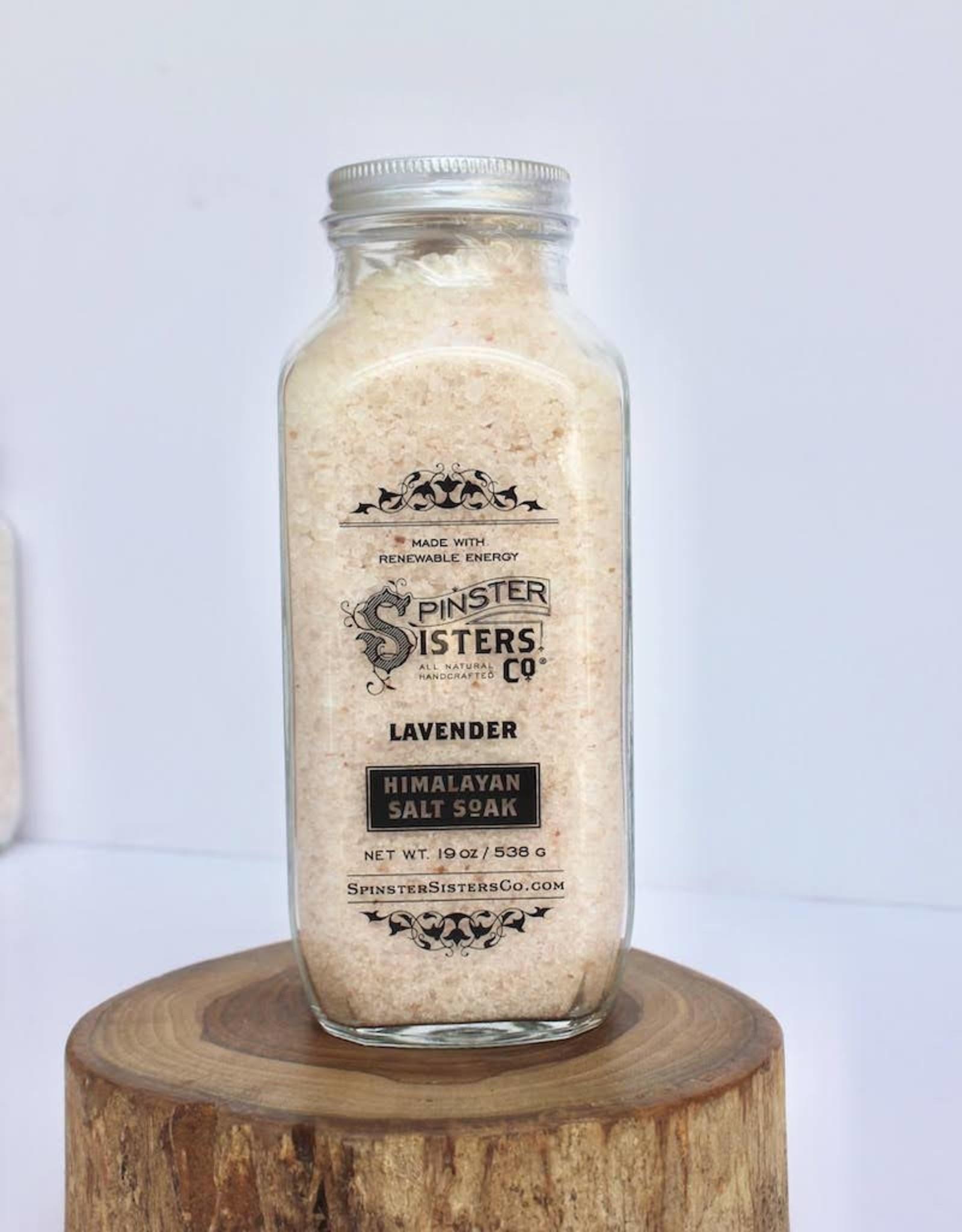 Spinster Sisters Himalayan Salt Soak