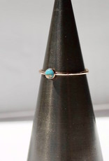 Mineral and Matter Turquoise & Copper Stacking Ring
