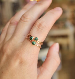 Malachite Stacking Ring