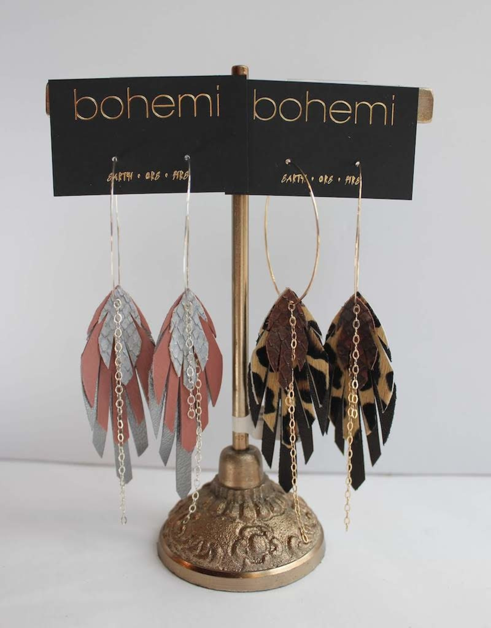 Bohemi Upu Hoop Earrings