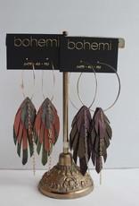 Bohemi Upu Hoop Earrings