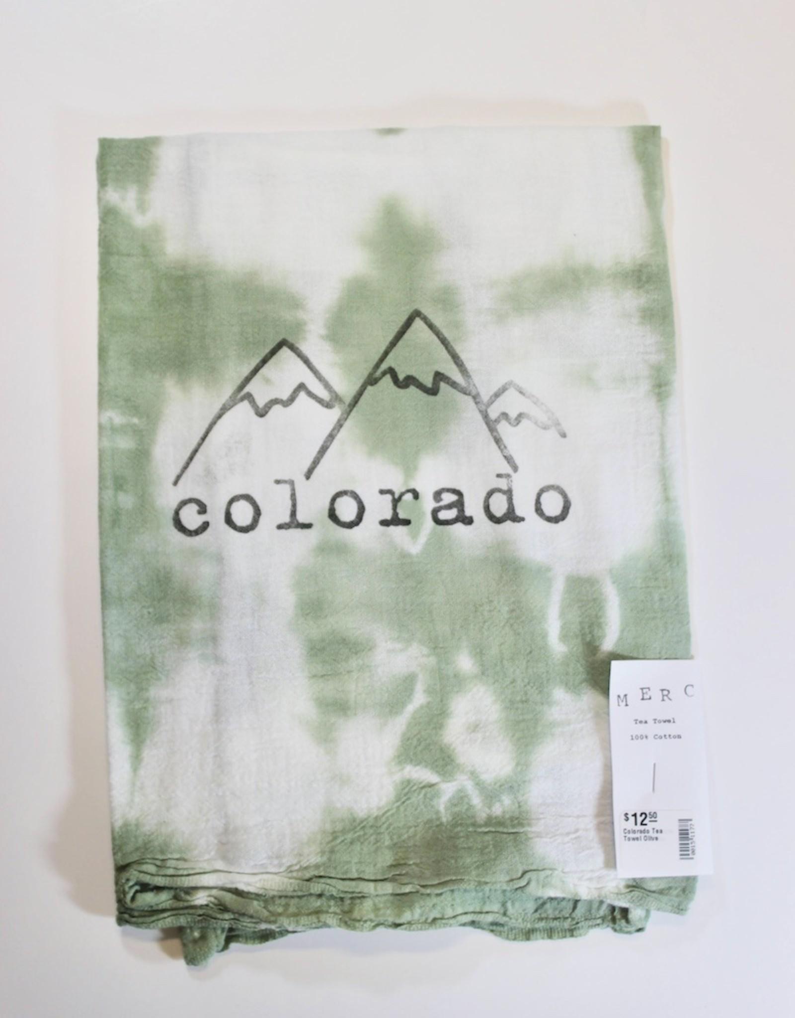 Colorado Tea Towel