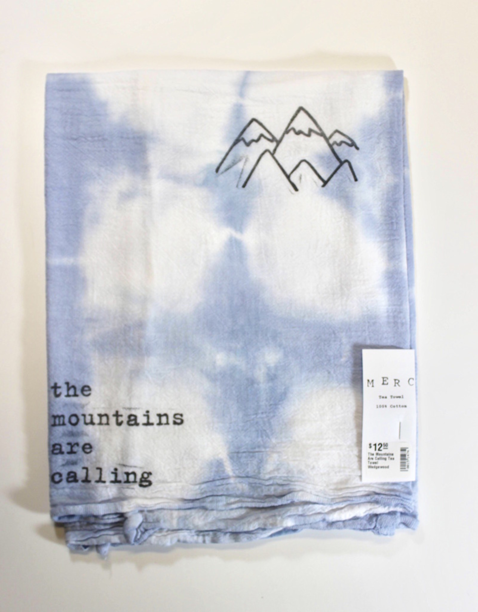 The Mountains Are Calling Tea Towel