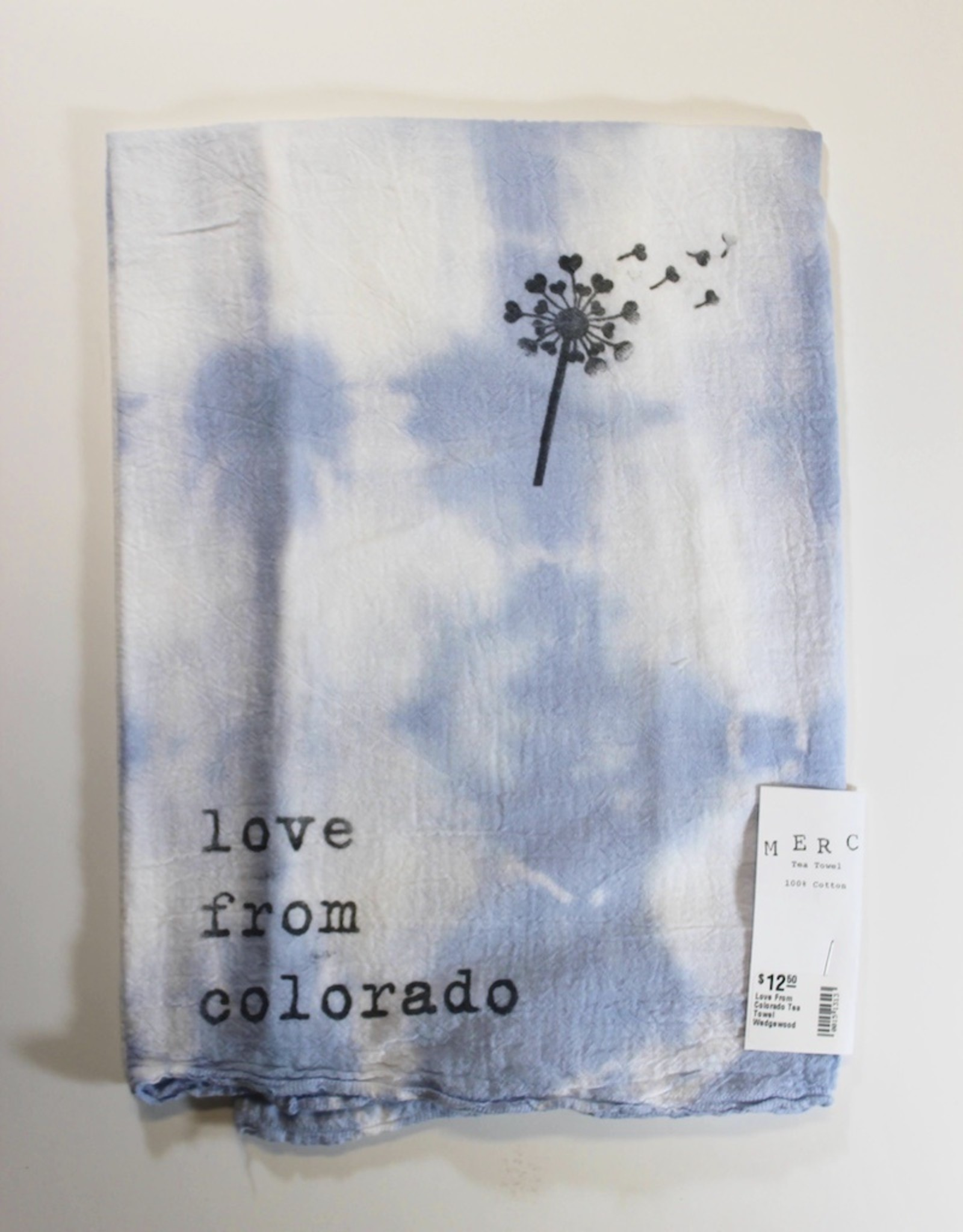 Love From Colorado Tea Towel