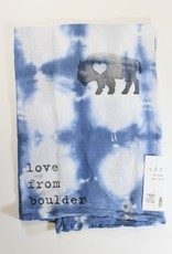 Love From Boulder Tea Towel