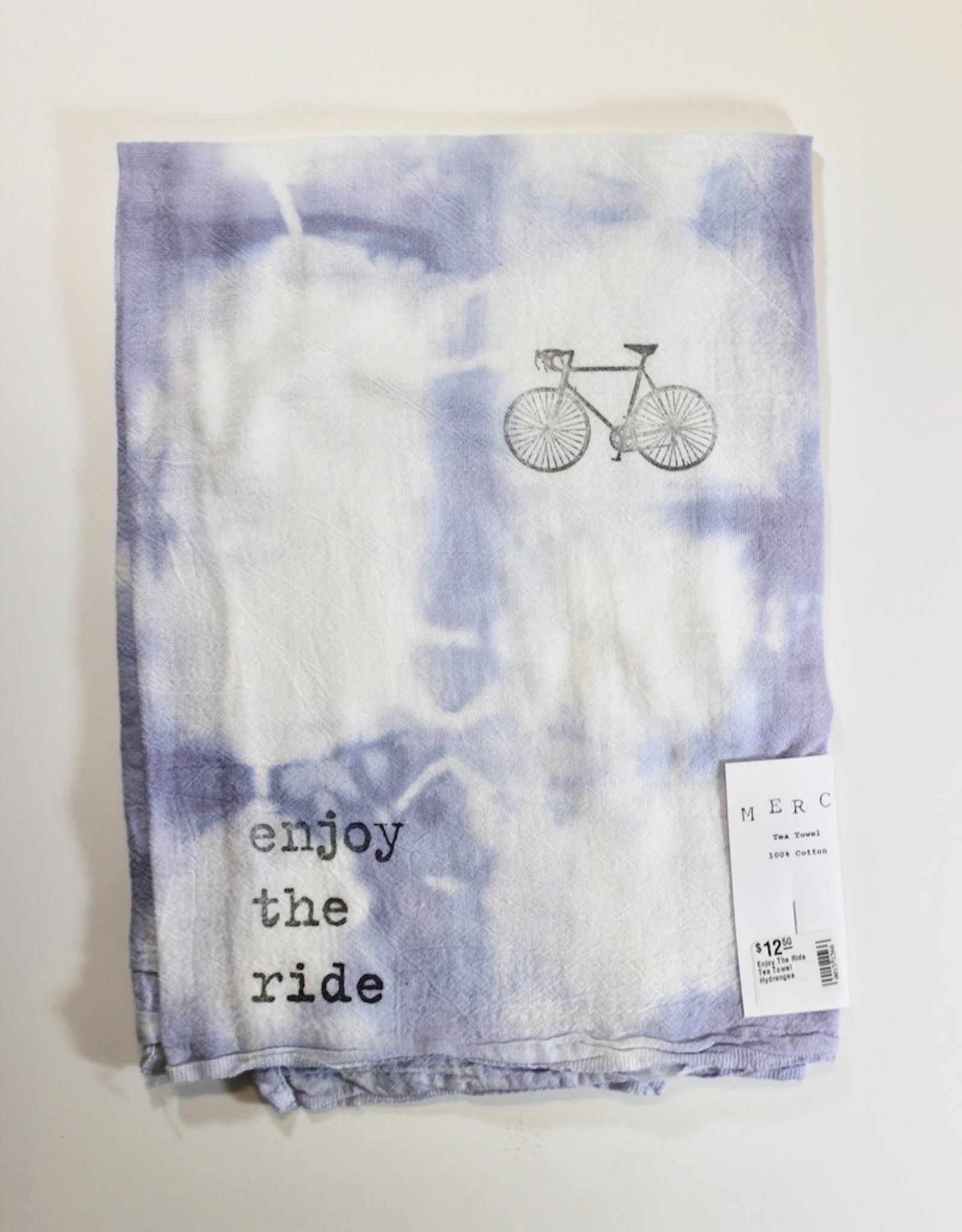 Enjoy The Ride Tea Towel