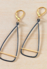 Freshie & Zero Antique Oar Earrings