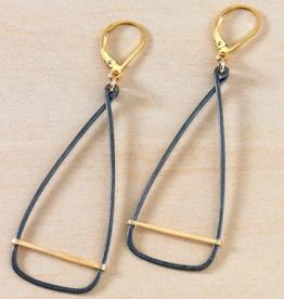 Freshie & Zero Antique Oar Earrings
