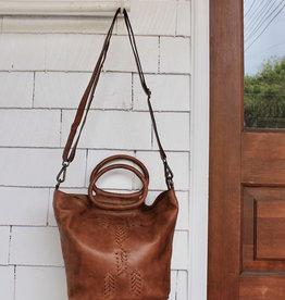 The Janina Bag in Cognac