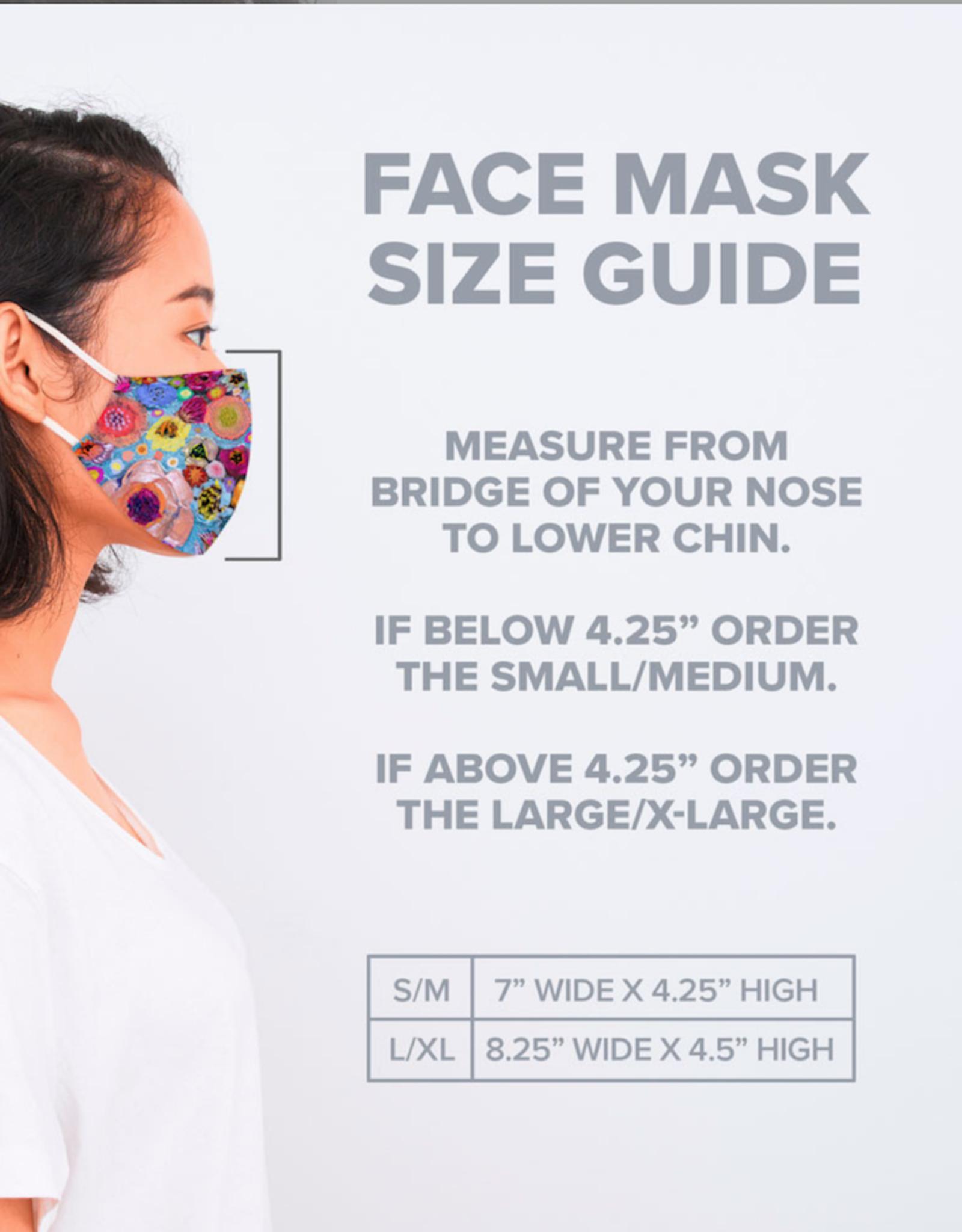 Lovely Llamas Face Mask