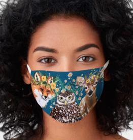 Flora & Fauna Woodland Face Mask