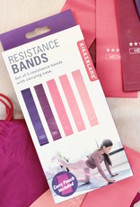Rainbow Resistance Bands - Set of 5