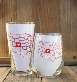 Colorado Love Glass