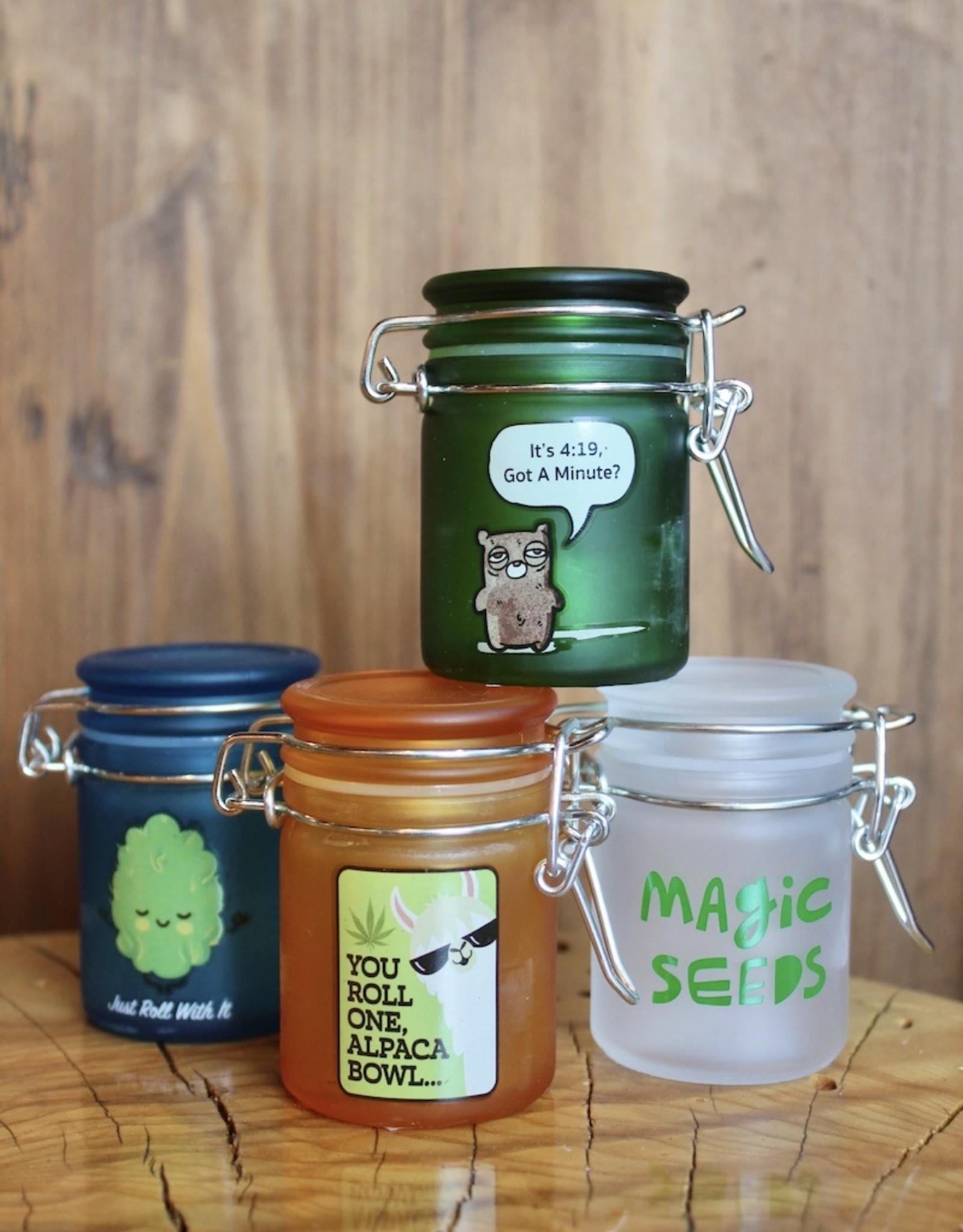 Pocket-Size Stash and Seal Jar