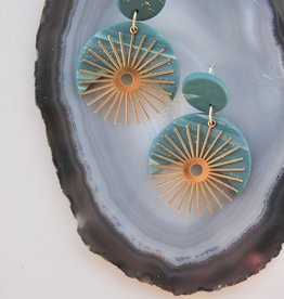 Sage Moon- The Michanna Earrings