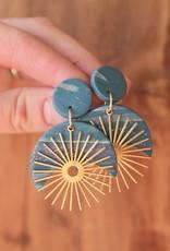 Sage Moon- The Michanna Earrings