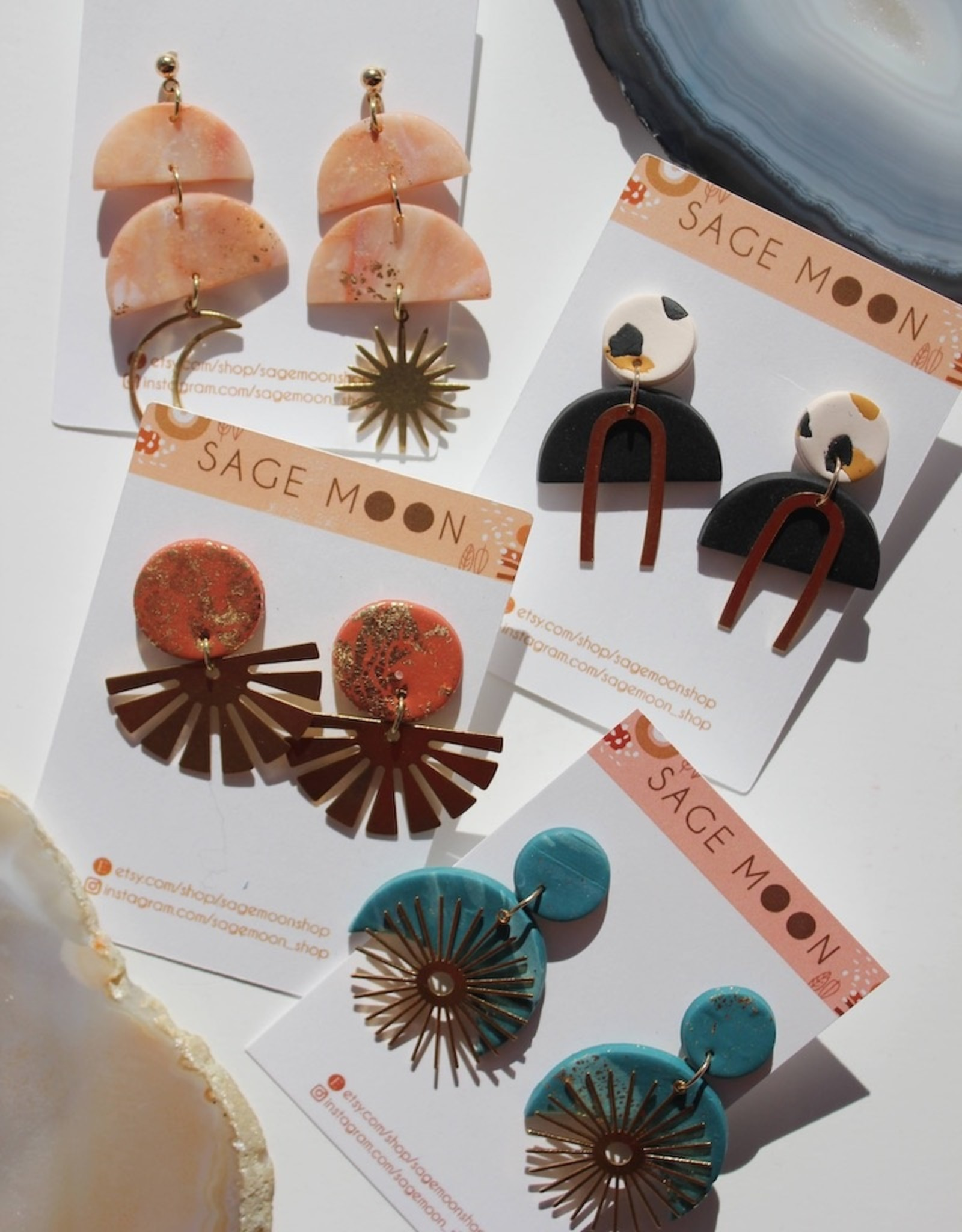 Sage Moon- Bliss Exclusive Earrings