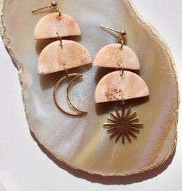 Sage Moon- The Bliss Exclusive Earrings
