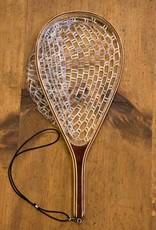 Classic Wooden Net Rubber Bag